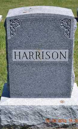 HARRISON, FAMILY - Branch County, Michigan | FAMILY HARRISON - Michigan Gravestone Photos