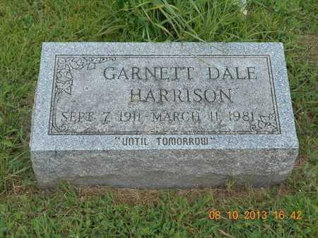 HARRISON, GARNETT DALE - Branch County, Michigan | GARNETT DALE HARRISON - Michigan Gravestone Photos