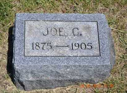 HARRISON, JOE C. - Branch County, Michigan   JOE C. HARRISON - Michigan Gravestone Photos