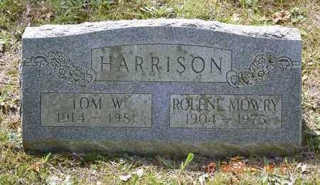HARRISON, ROLENE - Branch County, Michigan | ROLENE HARRISON - Michigan Gravestone Photos