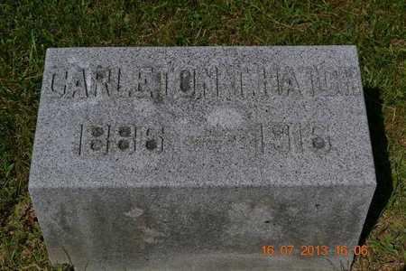 HATCH, CARLETON - Branch County, Michigan | CARLETON HATCH - Michigan Gravestone Photos