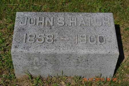 HATCH, JOHN - Branch County, Michigan | JOHN HATCH - Michigan Gravestone Photos