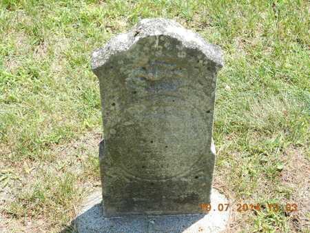 HENRY, ETTIE - Branch County, Michigan | ETTIE HENRY - Michigan Gravestone Photos