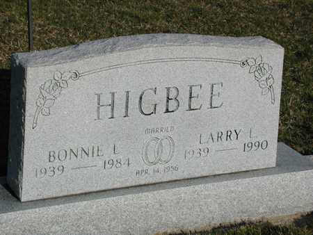 HIGBEE, LARRY - Branch County, Michigan | LARRY HIGBEE - Michigan Gravestone Photos