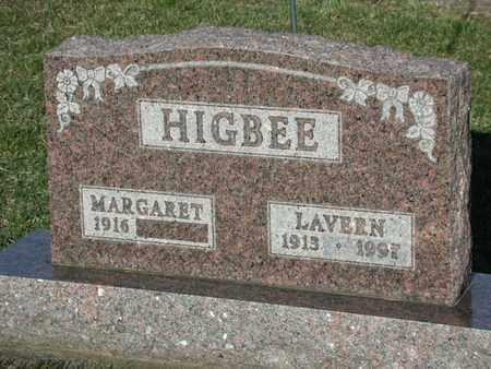 HIGBEE, LAVERN - Branch County, Michigan | LAVERN HIGBEE - Michigan Gravestone Photos