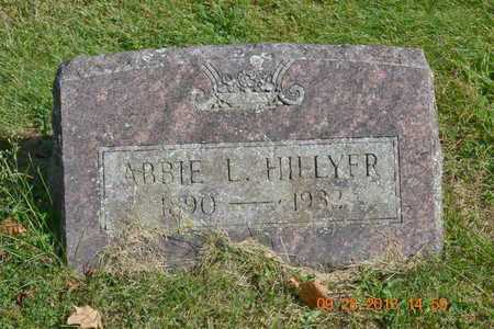 HILLYER, ABBIE L. - Branch County, Michigan | ABBIE L. HILLYER - Michigan Gravestone Photos