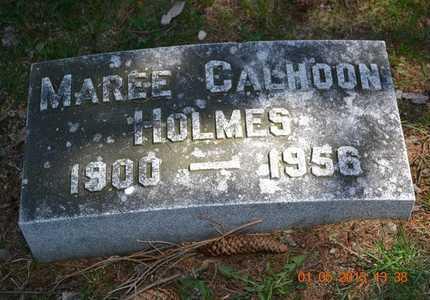 HOLMES, MAREE - Branch County, Michigan   MAREE HOLMES - Michigan Gravestone Photos
