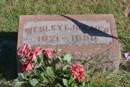 HOLMES, WESLEY L. - Branch County, Michigan | WESLEY L. HOLMES - Michigan Gravestone Photos