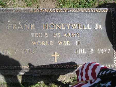 HONEYWELL, JR., FRANK - Branch County, Michigan   FRANK HONEYWELL, JR. - Michigan Gravestone Photos