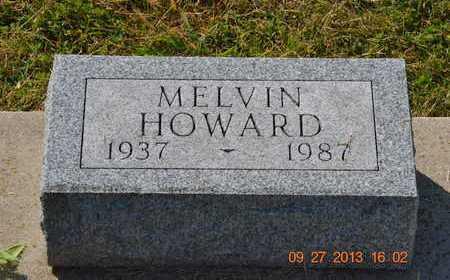 HOWARD, MELVIN - Branch County, Michigan | MELVIN HOWARD - Michigan Gravestone Photos