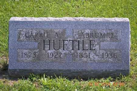 HUFTILE, CARRIE A. - Branch County, Michigan | CARRIE A. HUFTILE - Michigan Gravestone Photos