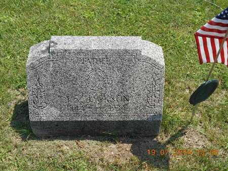 JACKSON, J.S. - Branch County, Michigan   J.S. JACKSON - Michigan Gravestone Photos
