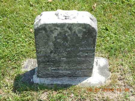 JACKSON, ORA - Branch County, Michigan   ORA JACKSON - Michigan Gravestone Photos