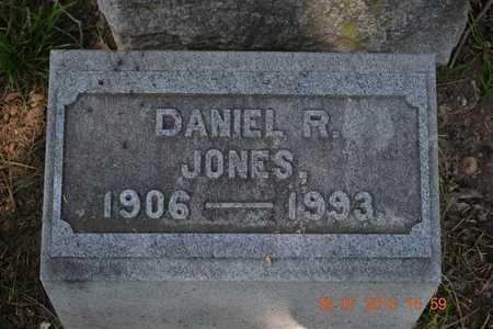 JONES, DANIEL - Branch County, Michigan   DANIEL JONES - Michigan Gravestone Photos