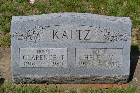 KALTZ, CLARENCE - Branch County, Michigan | CLARENCE KALTZ - Michigan Gravestone Photos