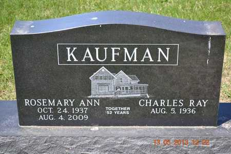 KAUFMAN, CHARLES RAY - Branch County, Michigan | CHARLES RAY KAUFMAN - Michigan Gravestone Photos