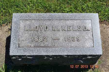 KELSO, LLOYD M. - Branch County, Michigan | LLOYD M. KELSO - Michigan Gravestone Photos