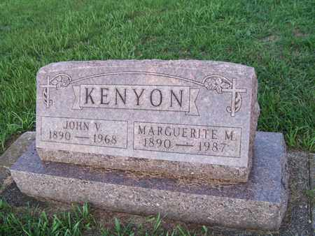 BISHOP KENYON, MARGUERITE - Branch County, Michigan | MARGUERITE BISHOP KENYON - Michigan Gravestone Photos