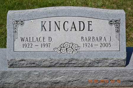 KINCADE, WALLACE D. - Branch County, Michigan | WALLACE D. KINCADE - Michigan Gravestone Photos