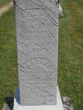 "KINDIG, CATHARINE A. ""KATE"" - Branch County, Michigan | CATHARINE A. ""KATE"" KINDIG - Michigan Gravestone Photos"