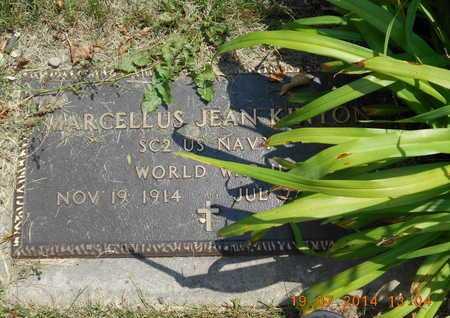 KINYON, MARCELLUS JEAN - Branch County, Michigan   MARCELLUS JEAN KINYON - Michigan Gravestone Photos
