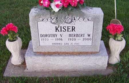 KISER, HERBERT - Branch County, Michigan | HERBERT KISER - Michigan Gravestone Photos