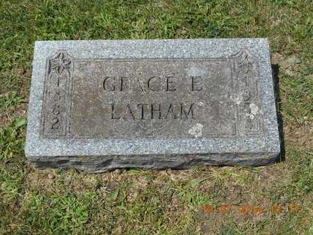 LATHAM, GRACE E. - Branch County, Michigan | GRACE E. LATHAM - Michigan Gravestone Photos