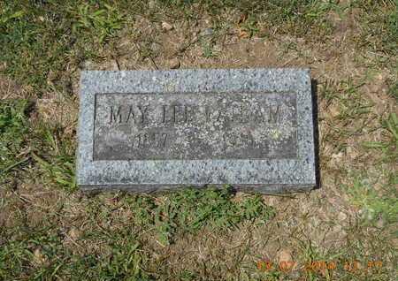 LATHAM, MAY LEE - Branch County, Michigan   MAY LEE LATHAM - Michigan Gravestone Photos