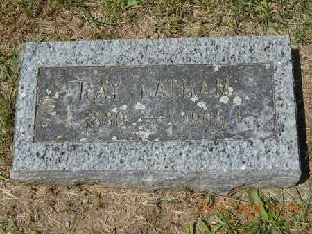 LATHAM, RAY - Branch County, Michigan   RAY LATHAM - Michigan Gravestone Photos