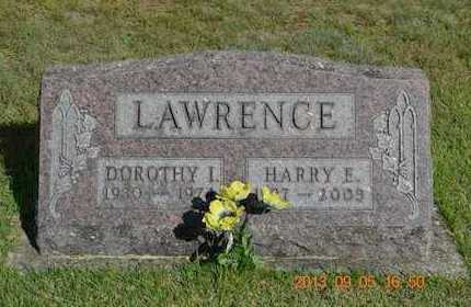 LAWRENCE, DOROTHY I. - Branch County, Michigan | DOROTHY I. LAWRENCE - Michigan Gravestone Photos