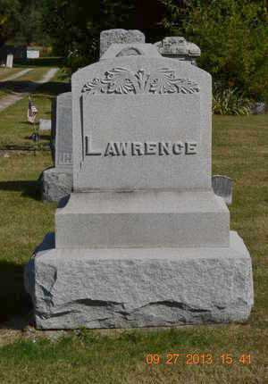 LAWRENCE, FAMILY - Branch County, Michigan | FAMILY LAWRENCE - Michigan Gravestone Photos