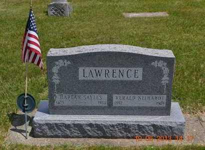 LAWRENCE, HARLAN SAYLES - Branch County, Michigan   HARLAN SAYLES LAWRENCE - Michigan Gravestone Photos