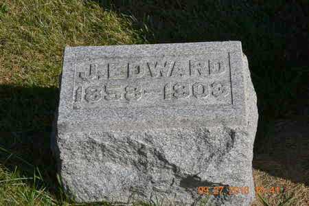 LAWRENCE, J. EDWARD - Branch County, Michigan | J. EDWARD LAWRENCE - Michigan Gravestone Photos