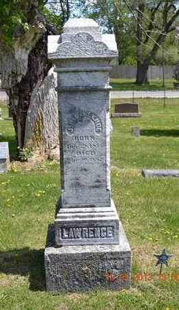 LAWRENCE, MARY B. - Branch County, Michigan | MARY B. LAWRENCE - Michigan Gravestone Photos
