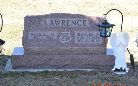 LAWRENCE, SHIRLEY A. - Branch County, Michigan | SHIRLEY A. LAWRENCE - Michigan Gravestone Photos