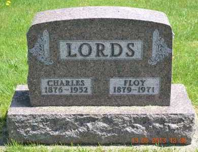 LORDS, FLOY - Branch County, Michigan   FLOY LORDS - Michigan Gravestone Photos
