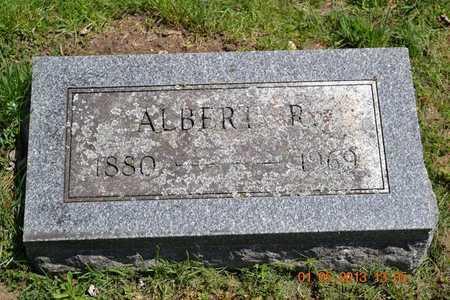 LOWRY, ALBERT R. - Branch County, Michigan | ALBERT R. LOWRY - Michigan Gravestone Photos