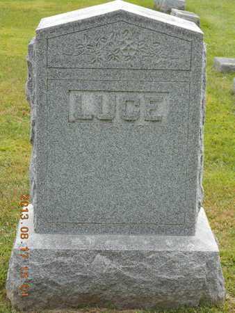 LUCE, FAMILY - Branch County, Michigan | FAMILY LUCE - Michigan Gravestone Photos