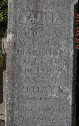 MARKHAM, EDNA - Branch County, Michigan | EDNA MARKHAM - Michigan Gravestone Photos