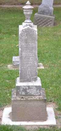MARKHAM, EDNA(REPAIRED) - Branch County, Michigan   EDNA(REPAIRED) MARKHAM - Michigan Gravestone Photos