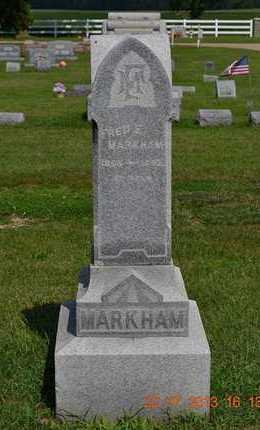 MARKHAM, FRED E. - Branch County, Michigan | FRED E. MARKHAM - Michigan Gravestone Photos