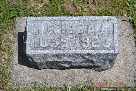 HIGBEE MCCLISH, MATILDA AWILDA - Branch County, Michigan | MATILDA AWILDA HIGBEE MCCLISH - Michigan Gravestone Photos