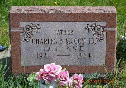 MCCOY, JR., CHARLES B. - Branch County, Michigan | CHARLES B. MCCOY, JR. - Michigan Gravestone Photos