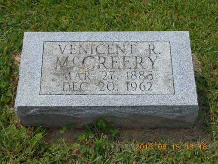 MCCREERY, VENICENT R. - Branch County, Michigan | VENICENT R. MCCREERY - Michigan Gravestone Photos