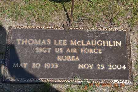 MCLAUGHLIN, THOMAS LEE - Branch County, Michigan | THOMAS LEE MCLAUGHLIN - Michigan Gravestone Photos