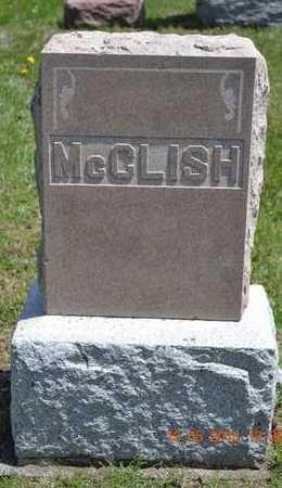 MCCLISH, FAMILY - Branch County, Michigan | FAMILY MCCLISH - Michigan Gravestone Photos