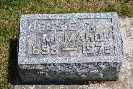 MCMAHON, BESSIE G. - Branch County, Michigan | BESSIE G. MCMAHON - Michigan Gravestone Photos