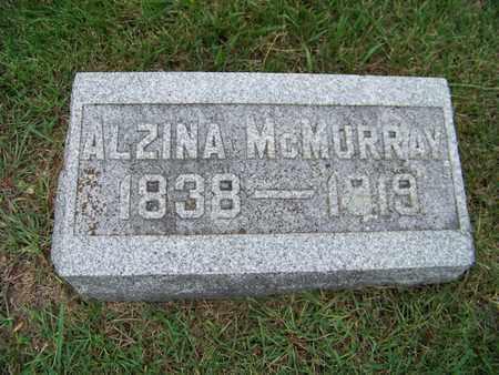 MCMURRAY, ALZINA - Branch County, Michigan | ALZINA MCMURRAY - Michigan Gravestone Photos