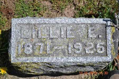 MCMURRAY, LILLIE E. - Branch County, Michigan | LILLIE E. MCMURRAY - Michigan Gravestone Photos