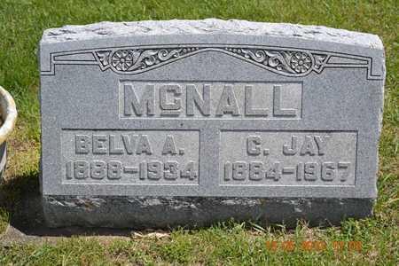 MCNALL, BELVA - Branch County, Michigan | BELVA MCNALL - Michigan Gravestone Photos